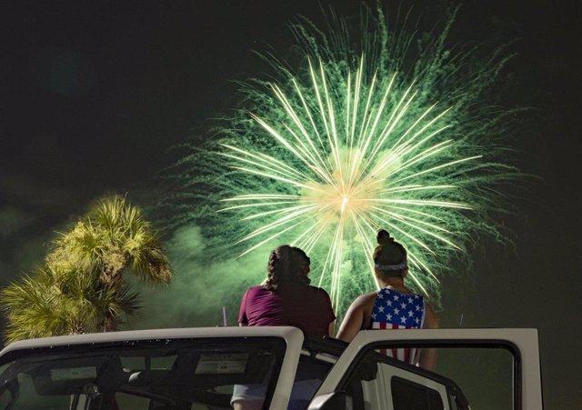 Celebración del 4 de julio en Florida