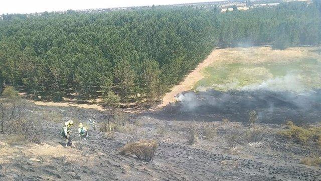 Incendio en Escalona.