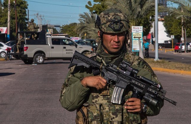 México.- Investigan el aterrizaje de emergencia de una posible narcoavioneta en