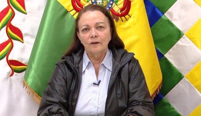 Coronavirus.- La ministra de Salud, séptimo integrante del Gobierno de Bolivia q