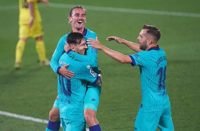 Fútbol/Primera.- Crónica del Villarreal CF - FC Barcelona, 1-4