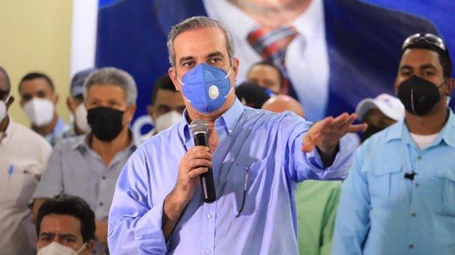 El candidato a la presidencia de República Dominicana por el Partido Revolucionario Moderno (PRM), Luis Abinader.