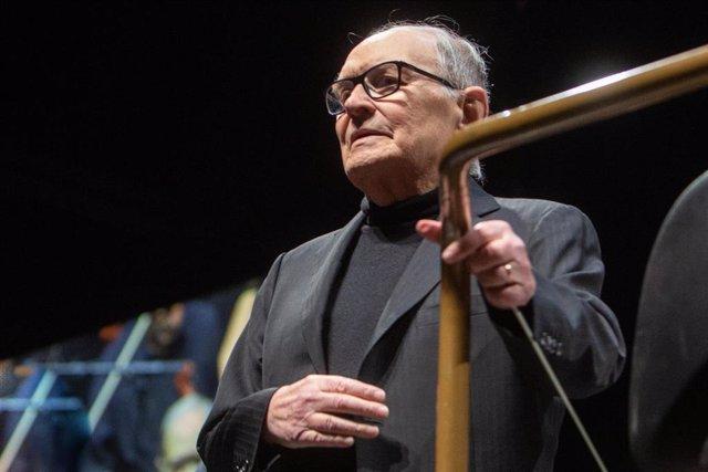 Concierto del compositor Ennio Morricone en Madrid en el Wizink Center ENNIO MORRICONE ; ;Ricardo Rubio