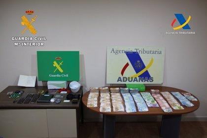 Cuatro detenidos por tráfico de droga, blanqueo, tenencia de armas y falsificación en dos pueblos toledanos