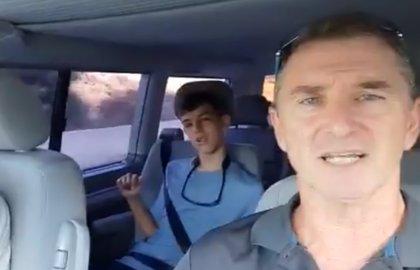 """Un joven con discapacidad y su padre recorrerán el Camino de Santiago para """"ganar la compostela"""""""