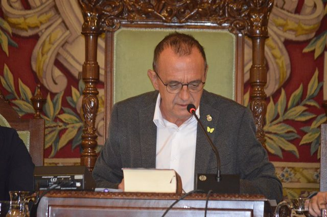 L'alcalde de Lleida, Miquel Pueyo (ERC).