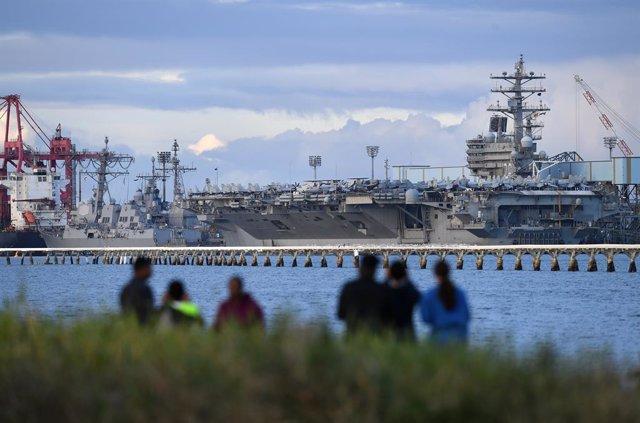 Asia.- Pekín acusa a EEUU de tener motivos ocultos en el mar de China Meridional