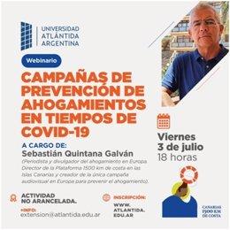 'Canarias, 1500 km de Costa' participa en el ciclo internacional 'El Salvamento