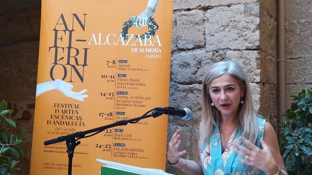 La consejera de Cultura y Patrimonio Histórico, Patricia del Pozo