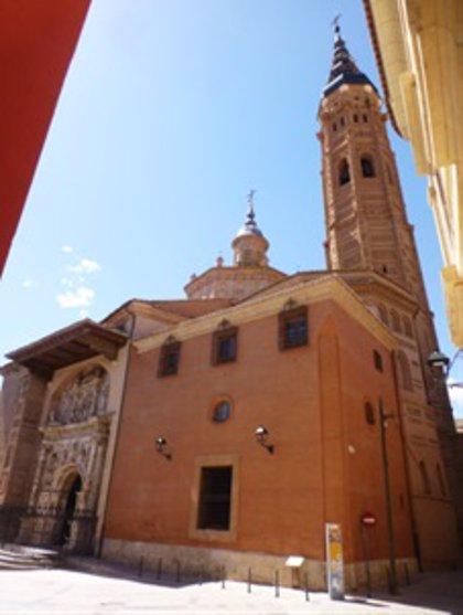Comienzan la segunda fase de la restauración interior de la Colegiata de Santa María la Mayor de Calatayud