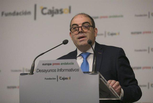 El presidente de la Asociación de Trabajadores Autónomos (ATA), Lorenzo Amor, en una imagen de archivo de un Desayuno Informativo de Europa Presss de 12 de febrero de 2020.