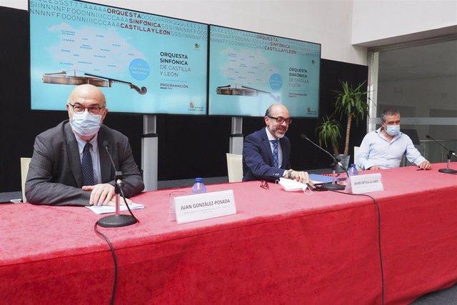 Ortega presenta en rueda de prensa la reanudación de la gira de la Oscyl en julio