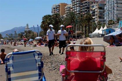 Auxiliares de playas registran más de 26.000 incidencias este fin de semana en la costa andaluza