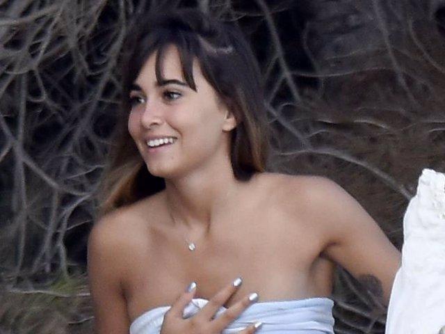 Aitana Ocaña, bellísima al natural durante sus vacaciones en Ibiza el año pasado