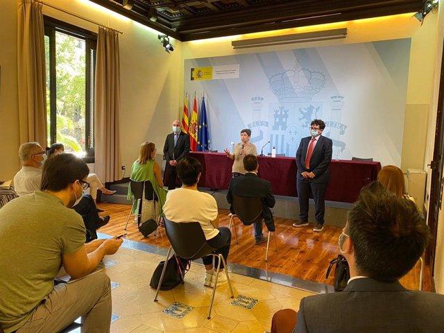La delegada del Govern espanyol a Catalunya, Teresa Cunillera, s'ha reunit aquest dilluns amb els responsables dels departaments administratius de la Delegació del Govern central.