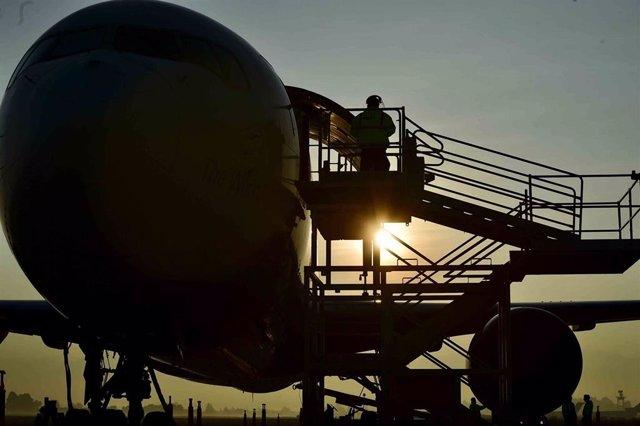 Aeropuerto mexicano de Toluca (Imagen de archivo)