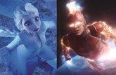 Foto: Así lucen los Vengadores de Marvel como personajes de Frozen