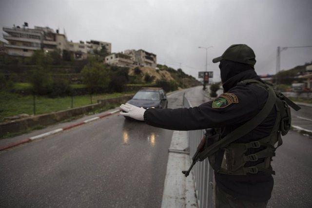 Coronavirus.- La Autoridad Palestina pide a Israel el cierre de los pasos fronte