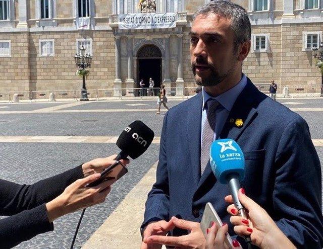 El conseller d'Acció Exterior, Relacions Institucionals i Transparència, Bernat Solé