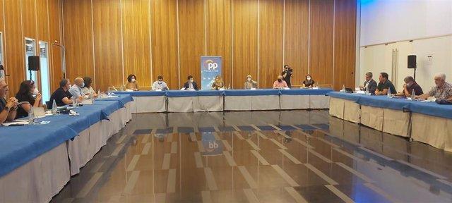 Reunión del PP con representantes de los trabajadores de Navantia