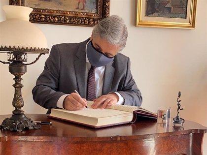 Uruguay.- Francisco Bustillo, ex embajador en España, toma posesión como nuevo ministro de Exteriores de Uruguay