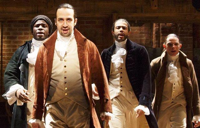 Hamilton el musical de Disney