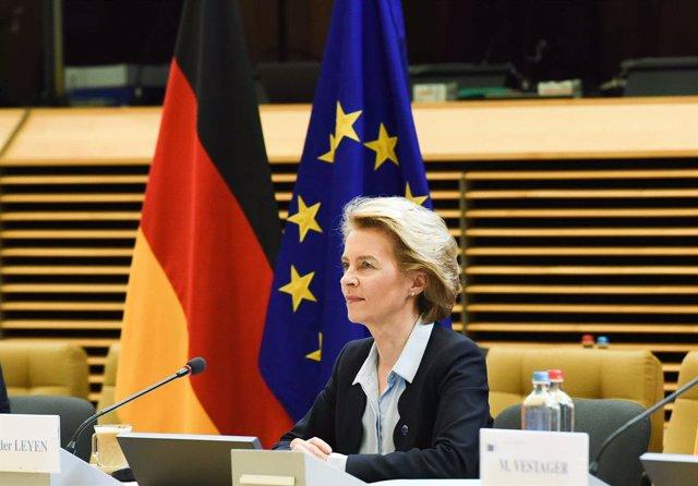 """Coronavirus.- Von der Leyen garantiza a las regiones de la UE un """"papel clave"""" e"""
