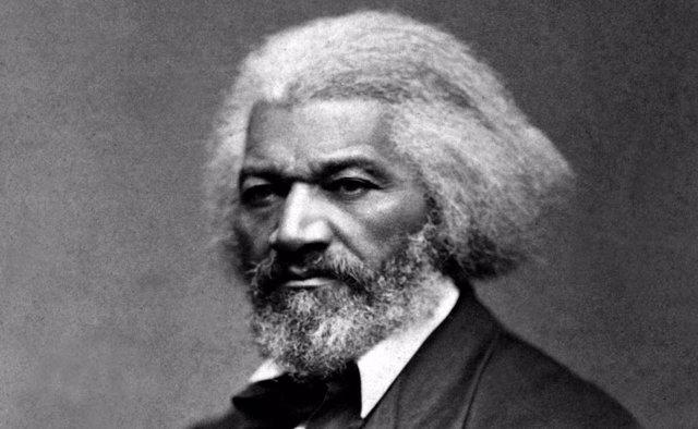 El abolicionista estadounidense Frederick Douglass