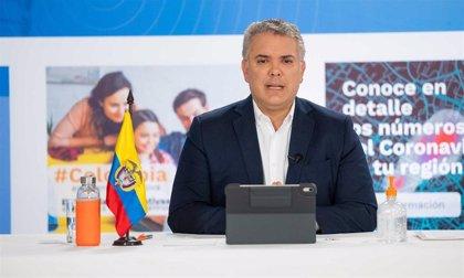"""Coronavirus.- La oposición le pide a Duque que cancele su programa diario sobre la COVID-19 por hacer """"politiqueo"""""""