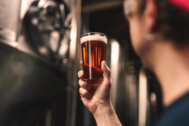 Imagen de una cerveza tras su elaboración