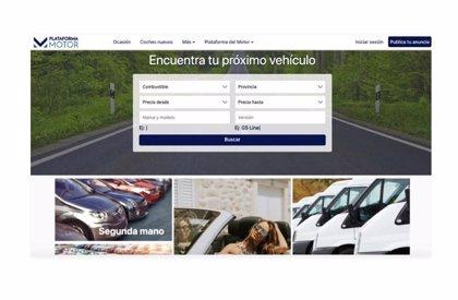 Plataforma del Motor lanza un nuevo portal de anuncios de coches de segunda mano
