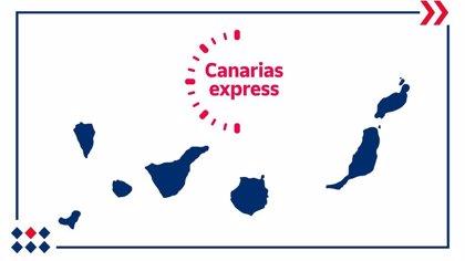 Correos Express lanza 'Canarias Express', su servicio de paquetería urgente para el archipiélago