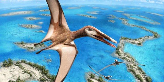 Descubierto un pequeño pariente antiguo de dinosaurios y pterosaurios