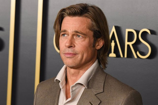 27 January 2020, US, Hollywood: US actor Brad Pitt poses for a picture during the 92nd Oscars Nominees Luncheon at the Ray Dolby Ballroom. Photo: Billy Bennight/ZUMA Wire/dpa