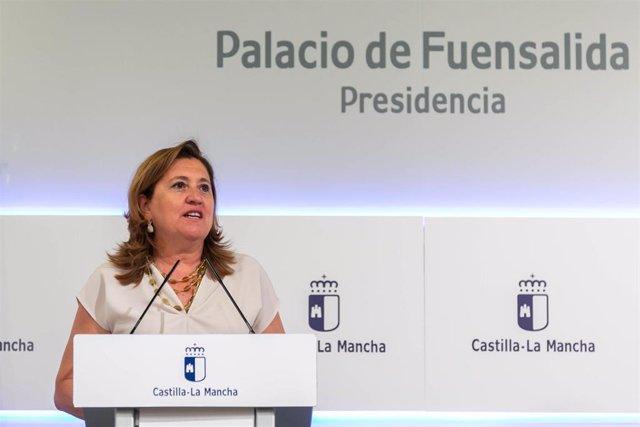 Consejera de Educación, Rosa Ana Rodríguez.