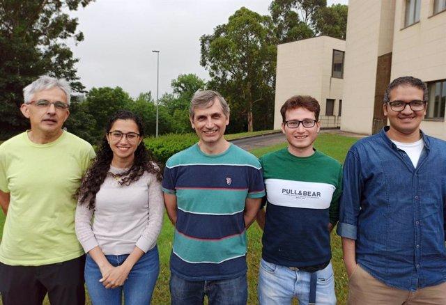 Fernando Briz, Mariam Saeed, Juan Manuel Guerrero, Paúl Alejandro Frutos y Ahmed Fathy Abouzeid.