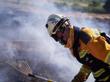 """El Gobierno foral llama a """"extremar la precaución"""" para evitar incendios"""