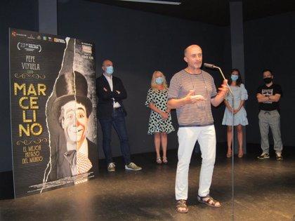 La película 'Marcelino, el mejor payaso del mundo' aspira a traspasar fronteras como lo hizo su protagonista