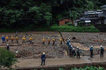 AMP.- Japón.- Aumenta 56 el balance de muertos por las lluvias en el sur de Japón