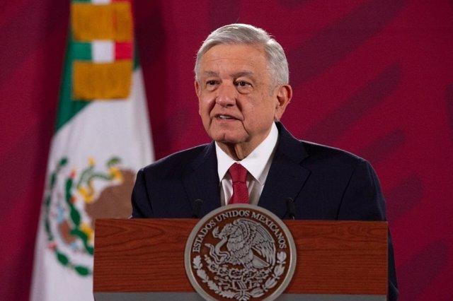 Coronavirus.- López Obrador confirma que ha dado negativo en la prueba del coron