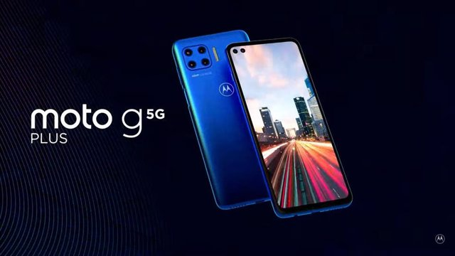 Motorola presenta el nuevo Moto G 5G Plus, que lleva el 5G a su gama media