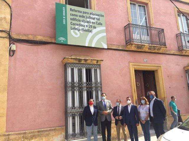 Visita a la nueva sede judicial de Lebrija
