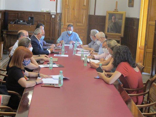Comisión de seguimiento del Festival de Música Antigua de Úbeda y Baeza
