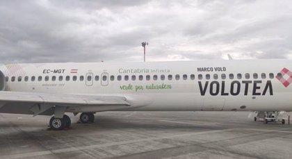 Volotea reinicia sus operaciones en el 'Seve Ballesteros' con vuelos a Sevilla, Ibiza y Mahón