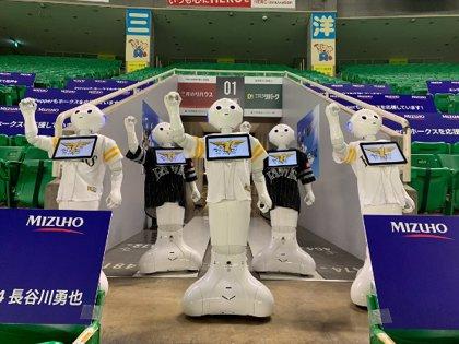 Portaltic.-Un equipo de béisbol japonés usará a robots como espectadores para animar los partidos sin público