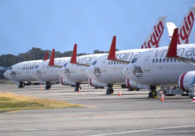 Aeropuerto de Adelaida, en Australia.