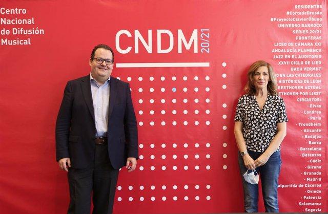 Presentación de la temporada 2020/2021 del CNDM