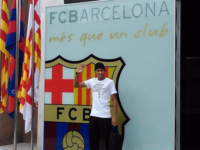Fútbol.- El TAS desestima la demanda del Santos al Barça por el fichaje de Neyma