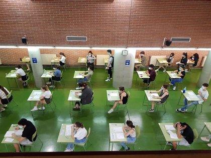 Un total de 7.215 estudiantes comienzan en Aragón la EvAU