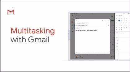 Portaltic.-Gmail ya puede utilizarse en el modo multitarea desde iPad